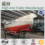 China 2/3 axles bulk cement transport truck /big loading capacity used bulk cement trailers for sale