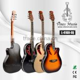 41 inch ovation hollow thin body electric acoustic guitar
