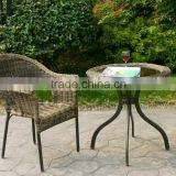 Patio Wicker Bistro Set