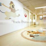 Epoxy PVC linoleum floor rolls for commercial and industrial