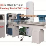 Low price CNC1503S woodworking machine or baseball bat cnc wood turning lathe with high quality