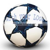Star design/custom Soccer ball/football size 5# brand logo hand sewn PU/PVC