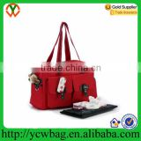 Customize durable easy wipe stroller baby travel bag