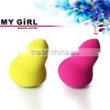 MY GIRL High quality makeup Gourd Shaped Make up beauty Sponge cosmetic electric refillable body powder puff