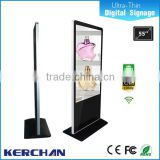 Control remoto indoor floor standing lg screen 55 inch interactive multi touch table/digital signage monitor