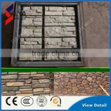 New Design Artificial Factory Prices Plastic Silicone Mould Concrete Wall Roadway Stone mold