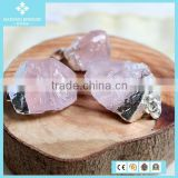 Trade Crystal Powder Raw Ore Material 925 Silver Pendant Jewelry Wholsale