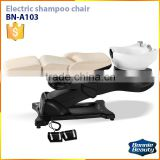 BN-A103 Luxury Electric shampoo bed massage shampoo chair salon hair wash chairs salon furniture equipment