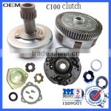 C100 motorcycle clutch
