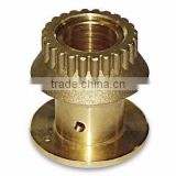 custom bronze metal casting sand cast brass parts with sand blasting finish