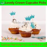 Bling Lovely Crown Cupcake Pick For Decoration Wedding Birthday Party Best Gifts