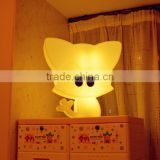 remote control color changing naughty Kitty table lamp