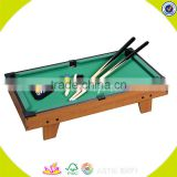 2017 high quality children indoor wooden pool table for sale W11A033