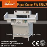 18 Year CE ISO Boway 520mm with side table Pogrammed electric paper cutter office stationery items