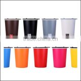 promotional facilitate frosted plastic colorful coffee cups tea cup,custom coffee cup plastic warter cup mug cup wholesale
