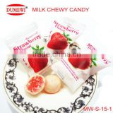 Halal Fruit Center Milk Chewy Candy Snacks