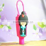 hot sale high quality hand sanitizer with silicone holder