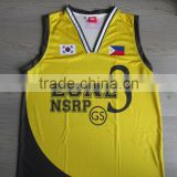 TVP HIGH QUALITY Dye Sublimation Basketball Jersey, Singlet and Shorts New Designs TVPMNQ1004