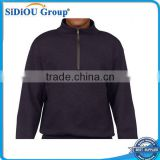 Wholesale Mens Fleece Pullover with Half Zip