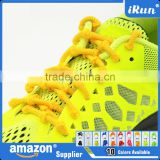 No Tie Elastic Laces with Knots~Elastic Lazy Quick Shoelaces for for Athletes, Runners, Kids & Disabled people