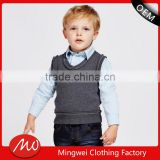2017 cheap woolen baby knit sweater vest design for winter