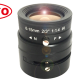 5.0 Megapixel lenses Machinevision lens 6-15mm 2/3\