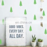 Tree Shape Ins Style Vinyl Mini Wall Sticker Children Room Home Decoration Mural Roon Decal
