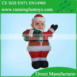 20ft giant inflatable Christmas decoration standing Santa Claus with gift bag