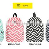 Wholesale High quality monogrammed Chevron Backpacks