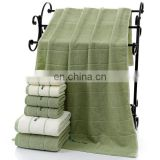 Wholesale Embroidery Customized 100% Cotton Towel Sets with Logo