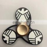 New Fidget Toy Agents of shield Hand Spinner Metal