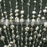 Silver Acrylic Beaded Curtain