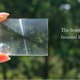 Fresnel lens for 4.0 inches projector magnifying lens optical lens type one