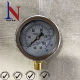 2200PSI PT Brass Connector Bourdon Tube Pressure Gauge