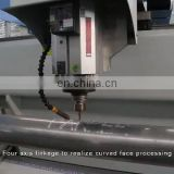 Aluminum window door profile cutting and milling machine for hardware