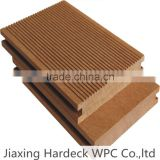 popular wood plastic composite decking outside board