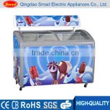 double glass sliding door ice cream chest freezer top open vertical ice cream chest freezer