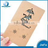 2015 Classical Design Customized Wooden Postcard