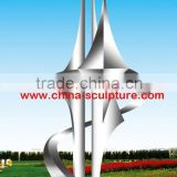 Modern outdoor Abstract Metal Sculpture for Garden decoration