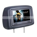 10 inch monitor lcd car/taxi/bus advertising player headrest advertising taxi display smart tv android led advertising screen
