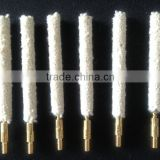 Cotton wire gun cleaning cotton mop head for wholesale