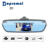 Multifunction bluetooth car camera hd 1080p dash cam video recorder rearview mirror