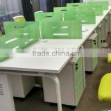 economic design office partition with mobile pedestal workstation office furniture(SZ-WST743)