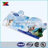 High Quality CMYK offset Printing for Folded Paper Pocket Cover Cards for Packaging ; Custom Made paper cover printed