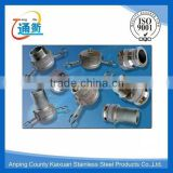 made in china stainless steel quick connect camlock coupling fittings 2 1 2""