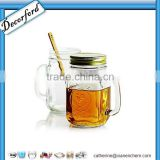 Hot Wholesale glass mason jar with handles                                                                         Quality Choice