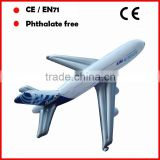 Advertising inflatable airplane A380 air bus for promotion