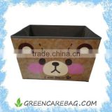 Non woven fabric foldable storage bin with handles                                                                         Quality Choice