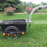 high quality plastic tray bicycle trailer