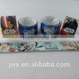 High quality silicon slapband with customized printing as souvenir
